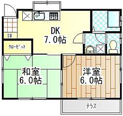 [一戸建] 神奈川県愛甲郡愛川町中津 の賃貸【/】の間取り