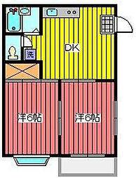 ハイツシェーンIII[1階]の間取り