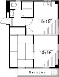 サングリーンレイ[3階]の間取り