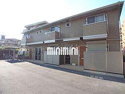 愛知県名古屋市名東区猪子石2の賃貸アパートの外観
