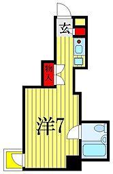千葉県習志野市大久保3丁目の賃貸マンションの間取り