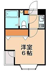 ピサ梅林I[2階]の間取り