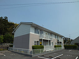 福岡県北九州市小倉南区上貫2丁目の賃貸アパートの外観