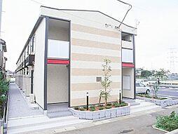 埼玉県鶴ヶ島市新町2丁目の賃貸アパートの外観