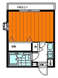 エクセル永山[210号室]の間取り