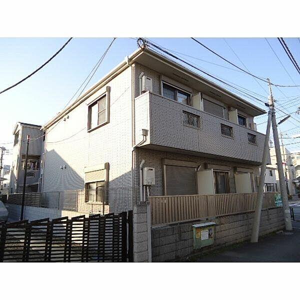 東京都小金井市中町1丁目の賃貸アパートの外観