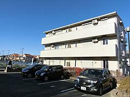 埼玉県上尾市上平中央の賃貸アパートの外観
