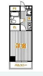 グリーンプラザ東綾瀬2[2F号室]の間取り