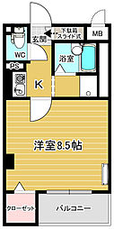 細田マンション[2階]の間取り