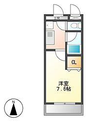 メゾン社台[2階]の間取り