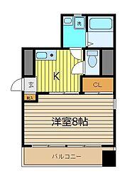 DOLL HOUSE[403号室]の間取り