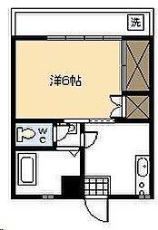 金剛ビル[205号室]の間取り