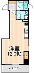 ミテッツァ蔵前[2階]の間取り