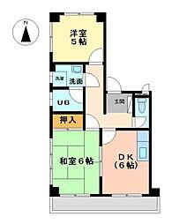 ニューあづみ野[2階]の間取り