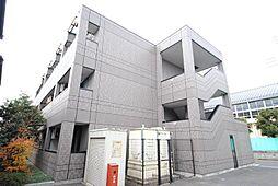 埼玉県川口市長蔵3の賃貸マンションの外観