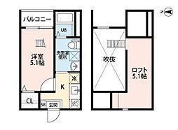 一番2丁目III(仮称)[1階]の間取り