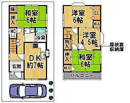 河内長野駅 7.5万円