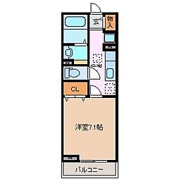 グランド・ソレイユ[2階]の間取り