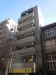京都府京都市下京区西洞院通四条下る妙伝寺町の賃貸マンションの外観