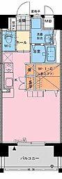 アクア広島[802号室]の間取り