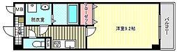 ブルーム東今川[3階]の間取り