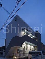 大阪府堺市堺区出島浜通の賃貸アパートの外観