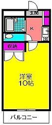 フローラ[105号室]の間取り