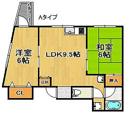 ハイアットマンションアヴィ[10階]の間取り