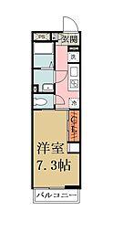 リブリ・Yatsuka[202号室]の間取り
