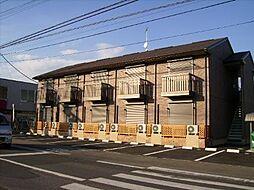 群馬県高崎市江木町の賃貸アパートの外観