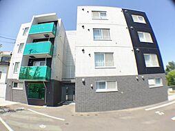 北海道札幌市西区発寒三条1丁目の賃貸マンションの外観
