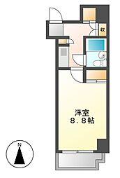ラウムズ富士見町[5階]の間取り