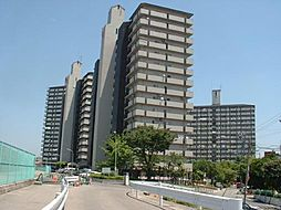 千船リバーサイドヴィラD棟[8階]の外観