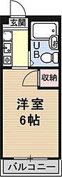 ソレイユヤマダ[301号室号室]の間取り