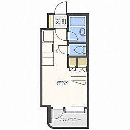 アン・セリジェ弐番館[7階]の間取り