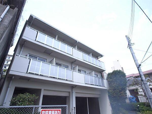 トレビアンコートA棟[3階]の外観