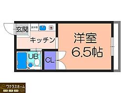 大阪府堺市堺区砂道町3丁の賃貸マンションの間取り