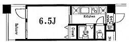 シンシア白金高輪Pace[5階]の間取り