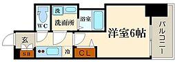 LC難波リオ[10階]の間取り
