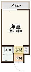 大阪府茨木市安威2丁目の賃貸マンションの間取り