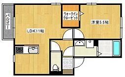 Sekuto[A202号室号室]の間取り