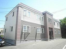 北海道札幌市清田区北野五条1丁目の賃貸アパートの外観