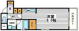 グラン心斎橋EAST[2階]の間取り