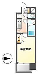 プレサンス上前津フィット[12階]の間取り
