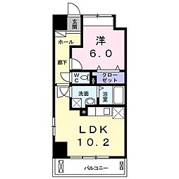 神奈川県川崎市幸区南加瀬5丁目の賃貸マンションの間取り