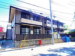 東京都練馬区西大泉2丁目の賃貸アパートの外観