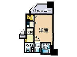 ダイナコート六本松3[6階]の間取り