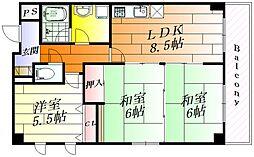 クリエール21[3階]の間取り