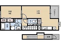 ブリアンステージ[2階]の間取り