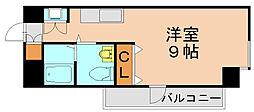 県庁前シティピアエクセル[4階]の間取り